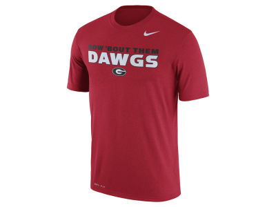 Georgia Bulldogs Nike NCAA Men's Legend Authentic Phrase T-Shirt