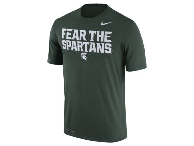Michigan State Spartans Nike NCAA Men's Legend Verbiage T-Shirt