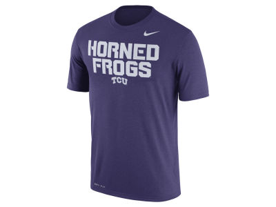 Texas Christian Horned Frogs Nike NCAA Men's Legend Verbiage T-Shirt