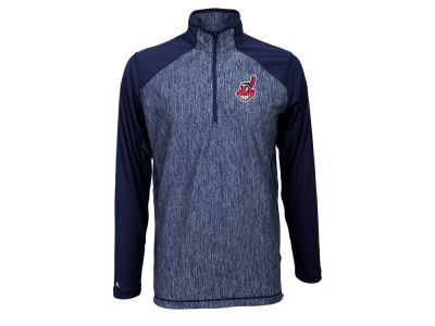 Cleveland Indians MLB Men's Playmaker Quarter Zip Pullover