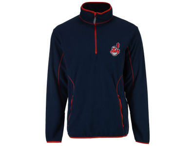 Cleveland Indians MLB Men's Ice Pullover Quarter Zip Pullover