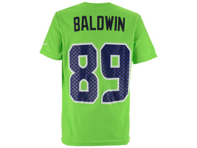 Seattle Seahawks Doug Baldwin Nike NFL Youth Pride Name and Number T-Shirt
