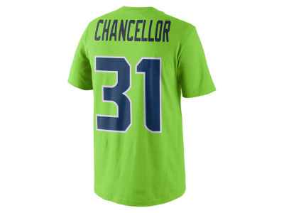 Seattle Seahawks Kam Chancellor NFL Youth Pride Name and Number T-Shirt