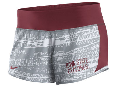 Iowa State Cyclones Nike NCAA Women's Printed Crew Shorts