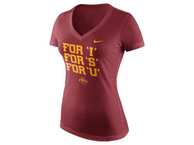 Iowa State Cyclones Nike NCAA Women's Local Phrase V T-Shirt 17