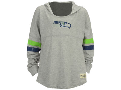 Seattle Seahawks NFL Youth Girls Campus Slouch Hoodie