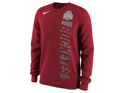 Ohio State Buckeyes Nike NCAA Men's Football Momentum Long Sleeve T-Shirt