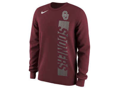 Oklahoma Sooners Nike NCAA Men's Football Momentum Long Sleeve T-Shirt