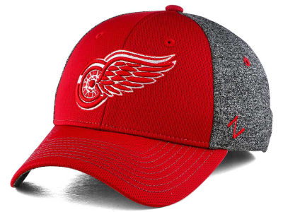 Detroit Red Wings Zephyr NHL Fuse Curved Flex Cap