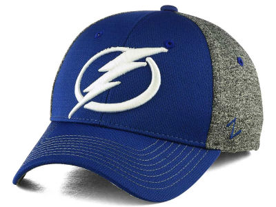 Tampa Bay Lightning Zephyr NHL Fuse Curved Flex Cap