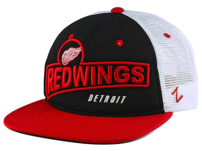 Detroit Red Wings Zephyr NHL Showtime Snapback Cap