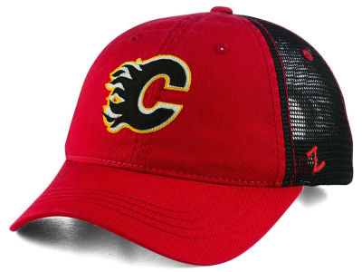 Calgary Flames Zephyr NHL Springtime Washed Adjustable Cap