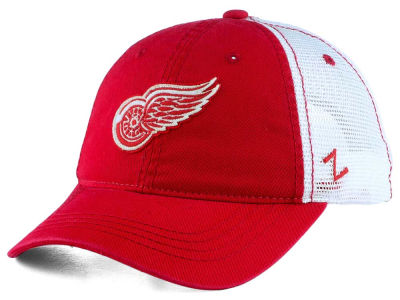 Detroit Red Wings Zephyr NHL Springtime Washed Adjustable Cap