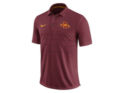 Iowa State Cyclones Nike NCAA Men's Early Season Coach Polo