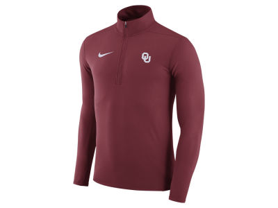Oklahoma Sooners Nike NCAA Men's Element 1/4 Zip Pullover