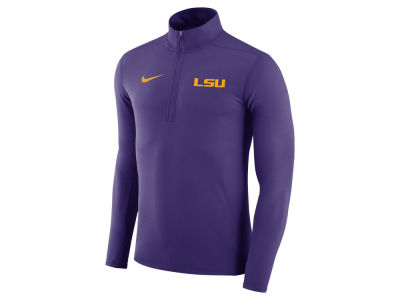 LSU Tigers Nike NCAA Men's Element 1/4 Zip Pullover