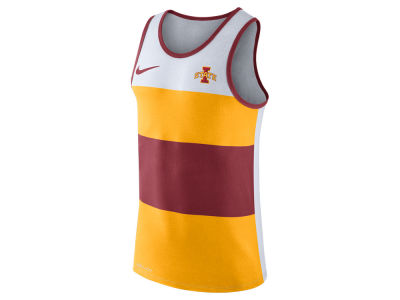Iowa State Cyclones Nike NCAA Men's Team Stripe Tank