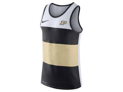 Purdue Boilermakers Nike NCAA Men's Team Stripe Tank