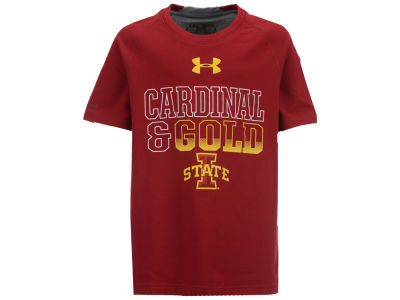 Iowa State Cyclones Under Armour NCAA Youth Charged T-Shirt