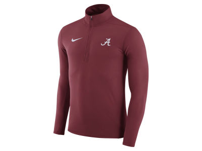 Alabama Crimson Tide Nike NCAA Men's Element 1/4 Zip Pullover