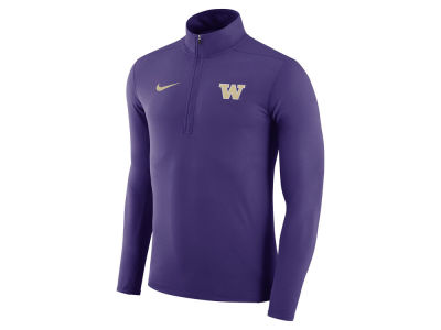 Washington Huskies Nike NCAA Men's Element 1/4 Zip Pullover