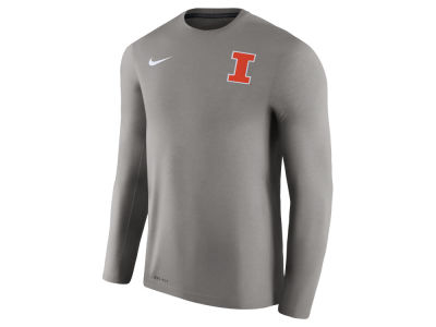 Illinois Fighting Illini Nike NCAA Men's Dri-Fit Touch Long Sleeve T-Shirt