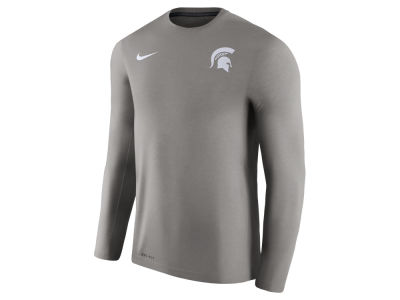 Michigan State Spartans Nike NCAA Men's Dri-Fit Touch Long Sleeve T-Shirt