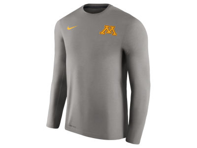 Minnesota Golden Gophers Nike NCAA Men's Dri-Fit Touch Long Sleeve T-Shirt