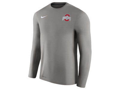 Ohio State Buckeyes Nike NCAA Men's Dri-Fit Touch Longsleeve T-Shirt