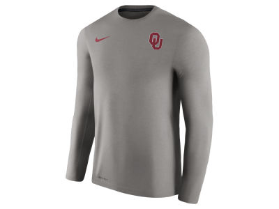 Oklahoma Sooners Nike NCAA Men's Dri-Fit Touch Longsleeve T-Shirt