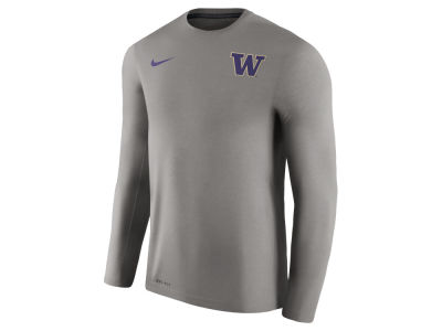 Washington Huskies Nike NCAA Men's Dri-Fit Touch Long Sleeve T-Shirt