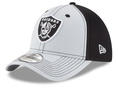 Oakland Raiders New Era NFL TC Front Neo 39THIRTY Cap