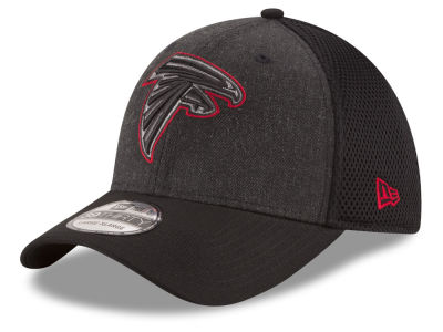 Atlanta Falcons New Era NFL Black Heather Neo 39THIRTY Cap