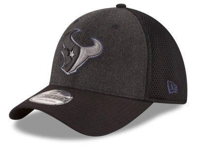 Houston Texans New Era NFL Black Heather Neo 39THIRTY Cap