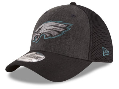 Philadelphia Eagles New Era NFL Black Heather Neo 39THIRTY Cap