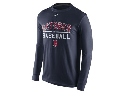 Boston Red Sox MLB Men's Playoff October Baseball Long Sleeve T-Shirt