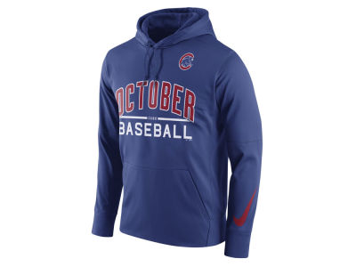 Chicago Cubs MLB Men's Playoff October Baseball Hoodie