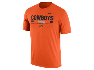 Oklahoma State Cowboys Nike 2017 NCAA Men's Legend Staff Sideline T-Shirt