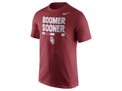 Oklahoma Sooners Nike NCAA Men's Verbiage T-Shirt