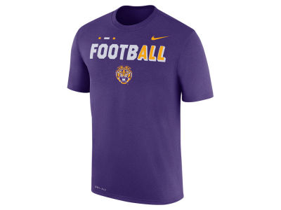LSU Tigers Nike NCAA Men's Football Legend T-Shirt