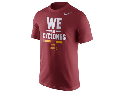 Iowa State Cyclones Nike NCAA Men's Verbiage T-Shirt