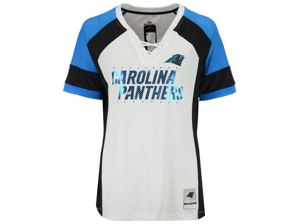 Carolina Panthers Majestic 2017 NFL Women s Draft Me T-Shirt  3921f92d5