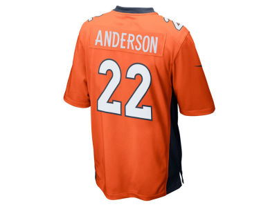 Denver Broncos C.J. Anderson Nike NFL Youth Game Jersey