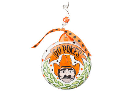 Oklahoma State Cowboys Puff Ornament