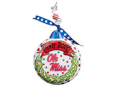 Ole Miss Rebels Puff Ornament