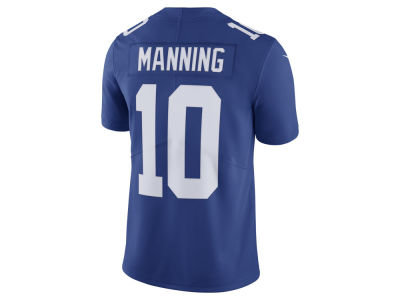New York Giants Eli Manning Nike NFL Men's Vapor Untouchable Limited Jersey