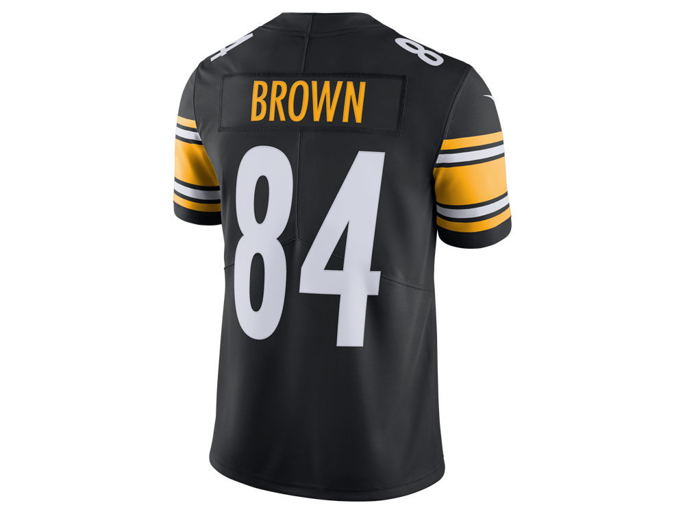 741b78e18 Pittsburgh Steelers Antonio Brown Nike NFL Men s Vapor Untouchable Limited  Jersey