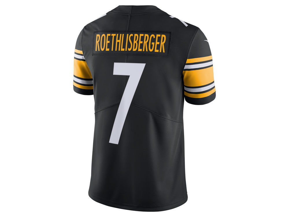 Pittsburgh Steelers Ben Roethlisberger Nike NFL Men s Vapor Untouchable  Limited Jersey  100173841
