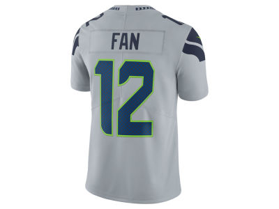 Seattle Seahawks Fan #12 Nike NFL Men's Vapor Untouchable Limited Jersey