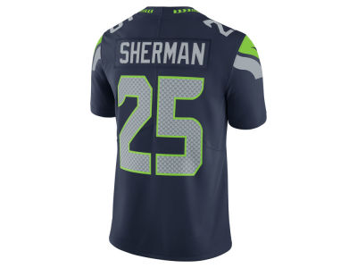 Seattle Seahawks Richard Sherman Nike NFL Men's Vapor Untouchable Limited Jersey